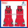 New Style Cheap Custom Team Basketball Uniform Design Wholesale