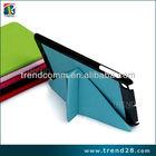 Guangzhou celular folding leather carry case for ipad mini