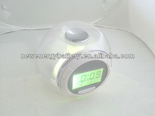 7 Colorfu LCD with nature sound antique clocks