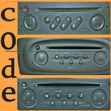 car radio code key decode