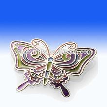 custom brass butterfly bookmarks