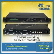 Chinese Manufacturer 4 HDMI Iput to DVB-C Modulator