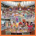 passeio de diversões carrossel musical de cavalos para venda