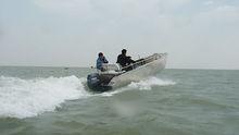 fuel efficient, trailerable, low maintenance, premium quality plate aluminum boat,
