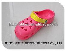 Closed toe flip flops