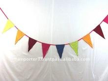 Advertising Nylon Flag / Cotton Party Pennants / Custom Promotional Bunting