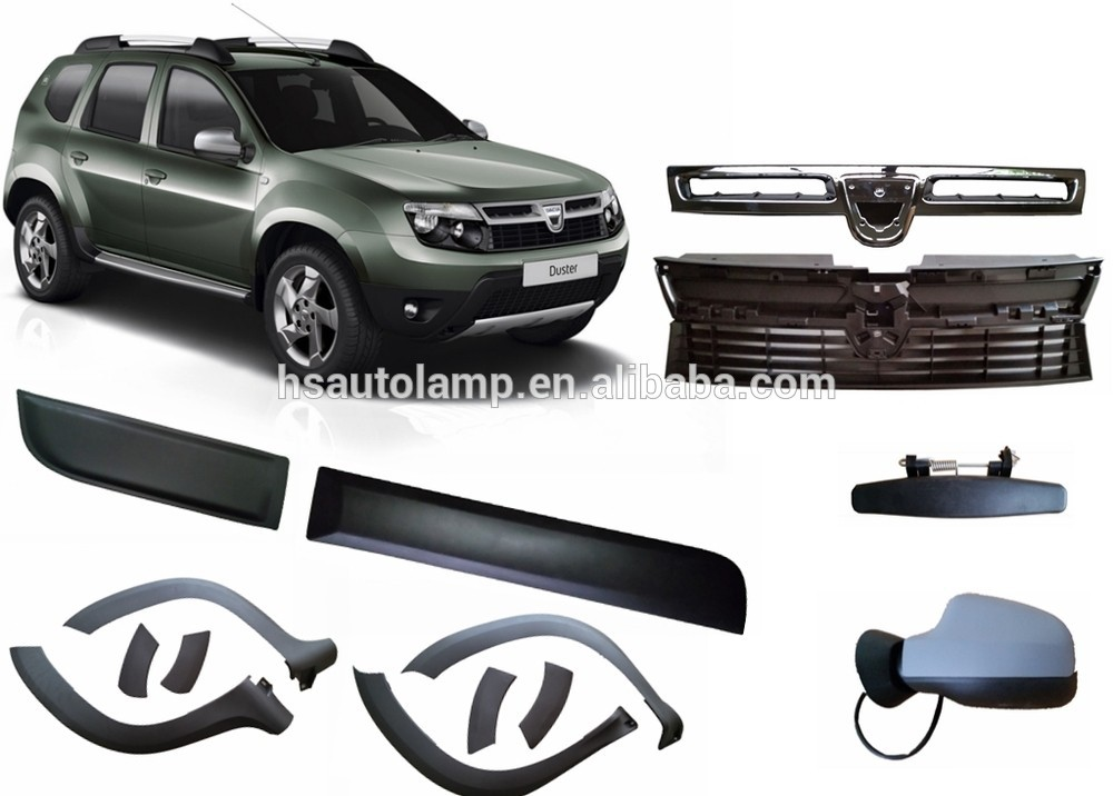 dacia duster auto accessories fender flares. Black Bedroom Furniture Sets. Home Design Ideas