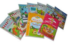 printing custom wholesales colorful school education children english story books