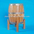 Venta caliente 3l/5l de vino de madera fsc barril de venta al por mayor