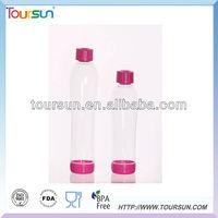 Round bottom tritan cork water bottle