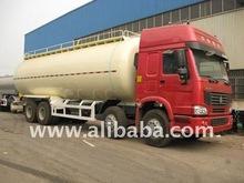 SINOTRUK HOWO Bulk-Cement Delivery Tank(8X4)/Semi-Trailer