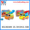 3D plastic electric fire engine car toy for sale with music and light