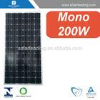 TUV/MCS/IEC/CE/CEC approved solar module 200Watt / pv solar panels SL5M72-200W