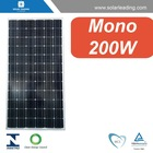 200W home solar panels for sale, with high efficiency and good quality