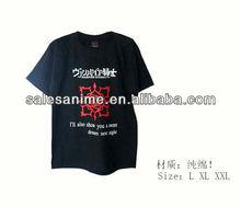 Wholesale hot sale Vampire Knight New fashion Rose symbol design Anime T-shir cotton short-sleeved T-shirt Anime Cosplay Costume