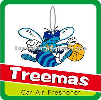 High quality rose smell car freshener/basketball shape Y54