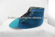 canvas shoe upper