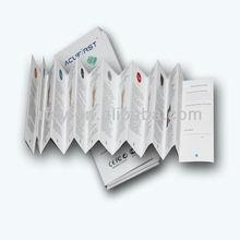 cheap foldable product description product booklet