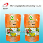 manufacture stand up plastic tea bag in china