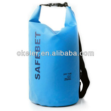 PVC Waterproof Bag With Belt Excellent for outdoor swimming