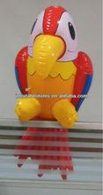 inflatable pvc parrot