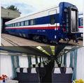 transporte ferroviário de passageiros de ônibus