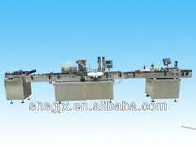 Automatic bottle feeding table Filling Capping labeling machine for Production Lineshanghai machinery