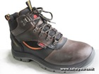 Safety Shoe, PU Safety Shoes, Steel Toe Cap & Anti-Penetration Fabric Midsole Plate Safety Shoes