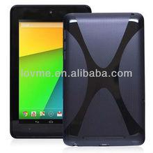 X Line TPU Case Cover Soft Gel For Google Nexus 7 2 Generation 2nd