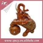 China wholesale antique resin elephant figurines