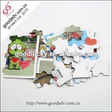 Environment friendly kids puzzle games/paper puzzle/educa puzzle