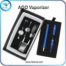 ago dry herb vaporizer + lcd battery new vaporizer atomizers