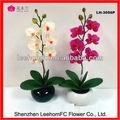 Handmade decorativa Artificical japonês barro orquídeas
