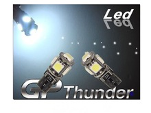GP Thunder No Error Code IC T10 194 168 2825 W5W 5-LED SMD Audi BMW