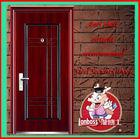 Iraqi steel burglar-proof door