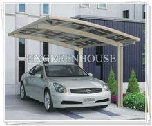 2015 Basic Style Easy DIY Aluminum & PC sheet Outdoor Canopy