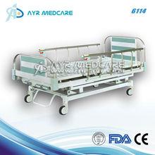 Hospital Bed Side Rail three crank manual bed AYR-6114