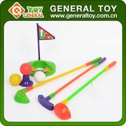 mini golf toy,plastic golf club toy,golf set toy foam