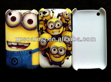 Cute designed Minion hard cover case for iphone 3g 3gs