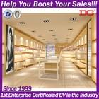 DG Furniture quality guarantee retail wooden shoes display rack (DG-H855)