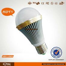7w led bulb lamp popular led 6500k cool white high lumen indoor lighting