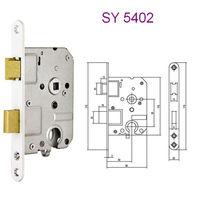 Euro cylinder lever mortise keyless mortise lock SY-5402