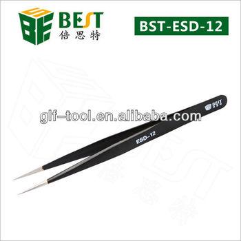 BEST- ESD Discounting Antistatic Tweezers for Repairing