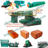 China high efficiency good quality automatic red clay brick machine