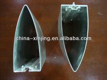 Bullet shape aluminum sun louverBY-10