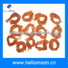 Hard chicken ring pet food