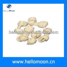White cheese knot bone pet snacks