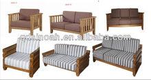 Sinoah 316 range solid oak frame sofa/wooden sofa