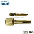 sino de ortho imágenes de instrumentos dentales después de tornillo