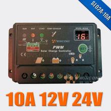 solar home used Wincong SL-02A 12v 24v auto work 10A charge Regulator
